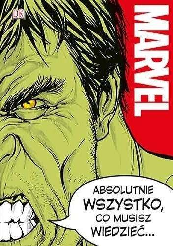 Okładka książki Marvel. Absolutnie wszystko 26b5a6cce1