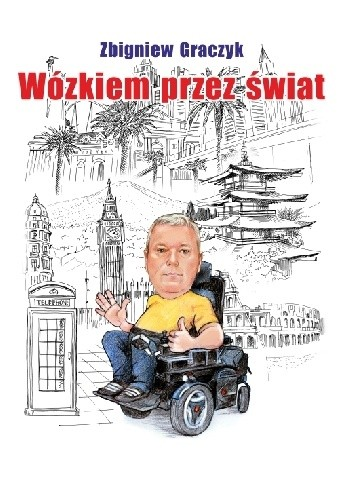 Okładka książki Wózkiem przez świat