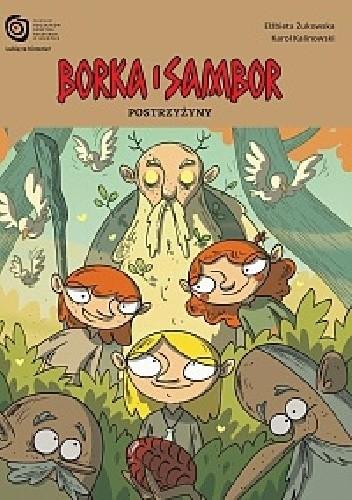 Okładka książki Borka i Sambor - Postrzyżyny