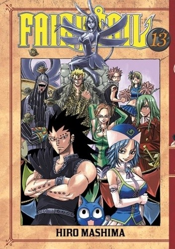 Okładka książki Fairy Tail tom 13
