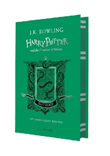 Okładka książki Harry Potter and the Chamber of Secrets – Slytherin Edition-Hardback