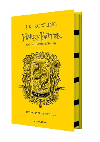 Okładka książki Harry Potter and the Chamber of Secrets – Hufflepuff Edition-Hardback