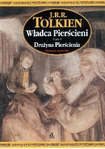 Okładka książki Władca Pierścieni. Drużyna Pierścienia