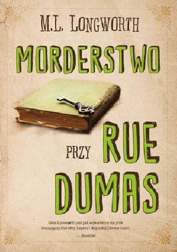 Okładka książki Morderstwo przy rue Dumas