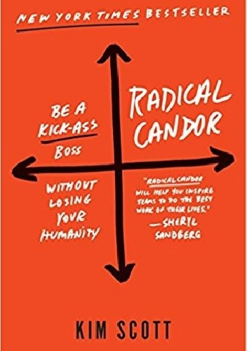 Okładka książki Radical Candor: Be a Kick-Ass Boss Without Losing Your Humanity