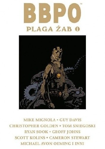 Okładka książki BBPO. Plaga żab Tom 1