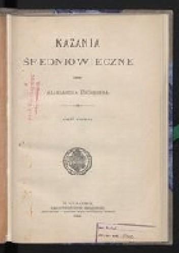 Okładka książki Kazania średniowieczne