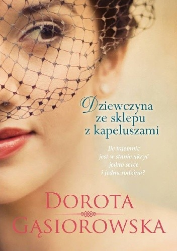 Okładka książki Dziewczyna ze sklepu z kapeluszami