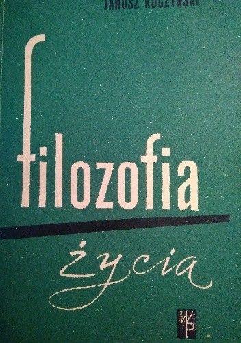 Okładka książki Filozofia życia