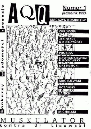 Okładka książki AQQ - Magazyn komiksów, nr 1 / październik 1993
