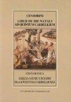 Księga o dniu urodzin dla Kwintusa Caerelliusza