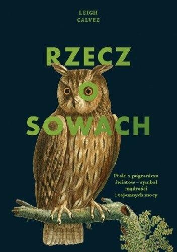 Okładka książki Rzecz o sowach