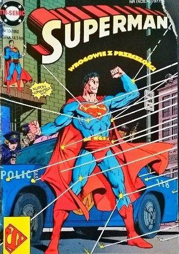 Okładka książki Superman 10/1992