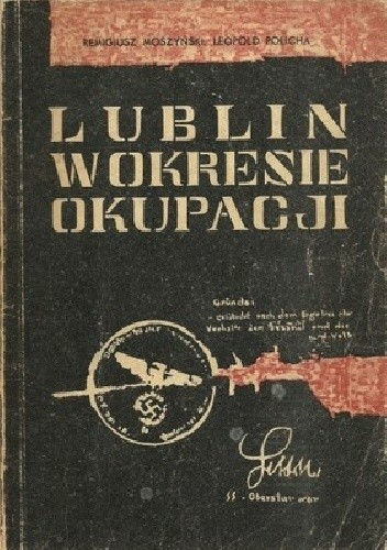 Okładka książki Lublin w okresie okupacji