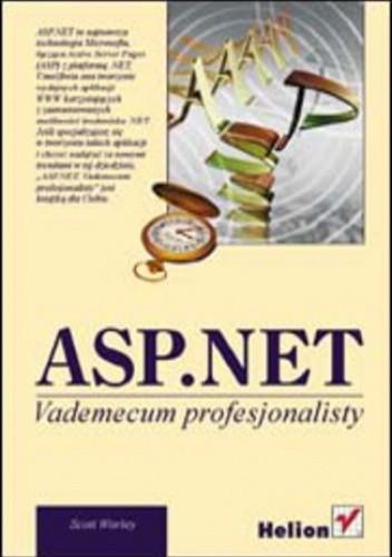 Okładka książki ASP.NET. Vademecum profesjonalisty