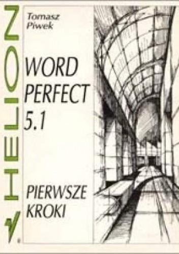 Okładka książki WordPerfect 5.1. Pierwsze kroki