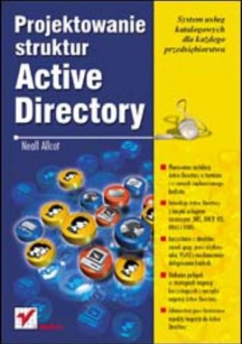 Okładka książki Projektowanie struktur Active Directory
