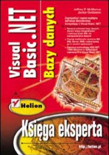 Okładka książki Visual Basic .NET. Bazy danych. Księga eksperta