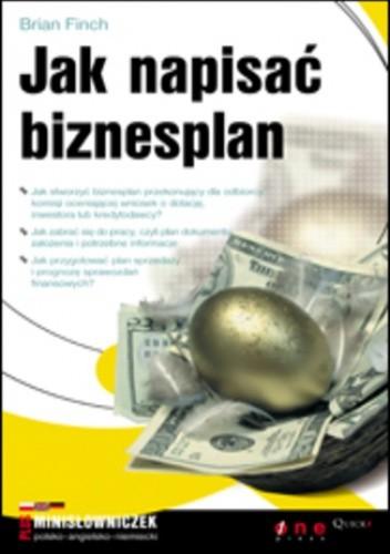 Okładka książki Jak napisać biznesplan