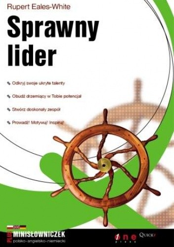 Okładka książki Sprawny lider