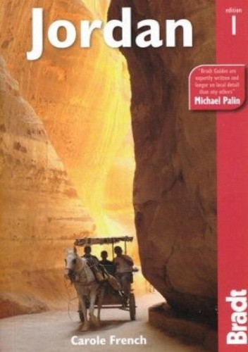 Okładka książki Jordan (Jordania). Przewodnik Bradt
