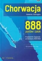 Chorwacja, Słowenia, Czarnogóra 888 portów i zatok 2014/2015  Przewodnik żeglarski po Adriatyku