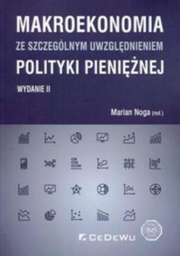 Okładka książki Makroekonomia ze szczególnym uwzględnieniem polityki pieniężnej