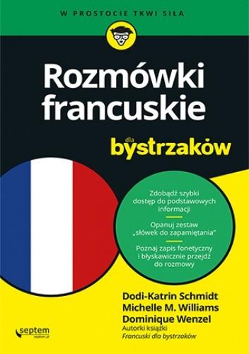 Okładka książki Rozmówki francuskie dla bystrzaków