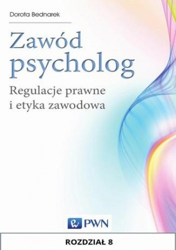 Okładka książki Zawód psycholog. Rozdział 8