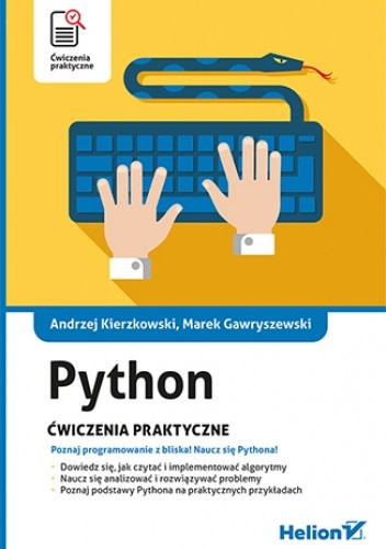 Okładka książki Python. Ćwiczenia praktyczne