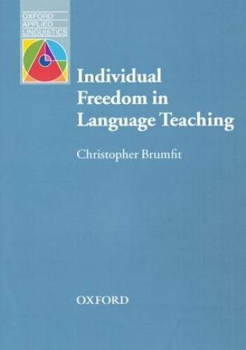 Okładka książki Individual Freedom in Language Teaching - Oxford Applied Linguistics