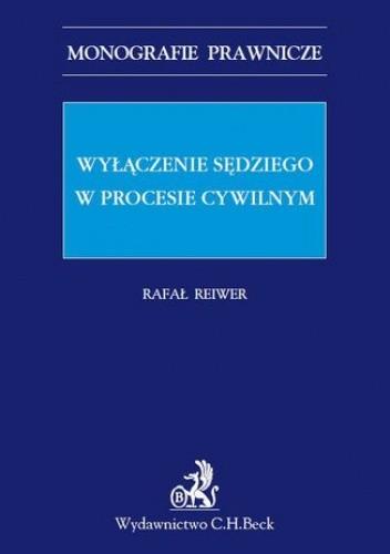Okładka książki Wyłączenie sędziego w procesie cywilnym