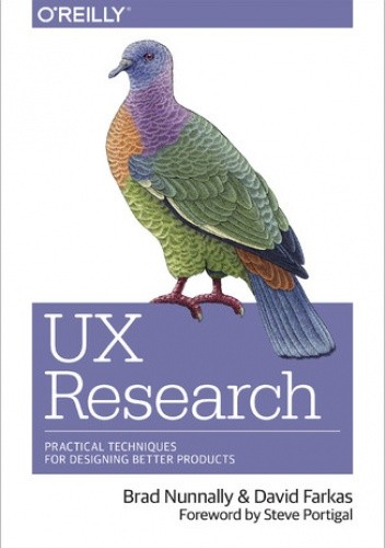 Okładka książki UX Research. Practical Techniques for Designing Better Products
