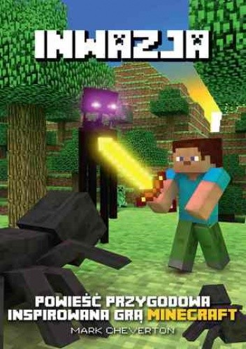 Okładka książki Minecraft. Inwazja