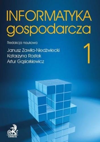 Okładka książki Informatyka Gospodarcza. Tom I