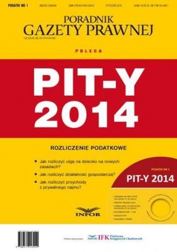 Okładka książki PIT-y 2014