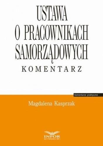 Okładka książki Ustawa o pracownikach samorządowych. Komentarz