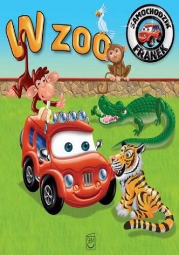 Okładka książki Samochodzik Franek. W zoo