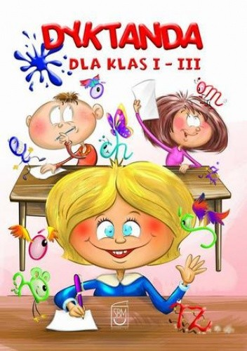 Okładka książki Dyktanda dla klas I-III
