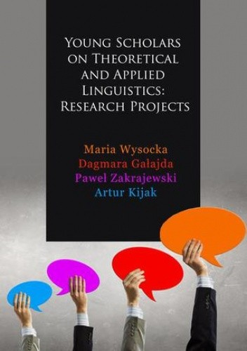 Okładka książki Young Scholars on Theoretical and Applied Linguistics: Research Projects
