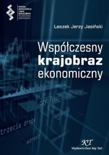 Okładka książki Współczesny krajobraz ekonomiczny