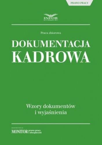 Okładka książki Dokumentacja kadrowa