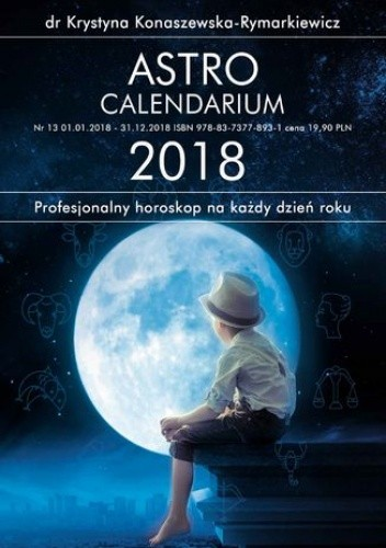 Okładka książki Astrocalendarium 2018