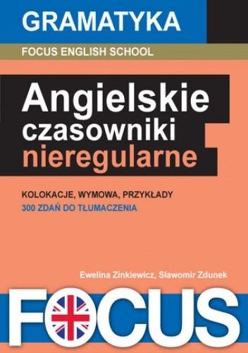 Okładka książki Angielskie czasowniki nieregularne
