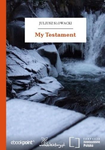 Okładka książki My Testament