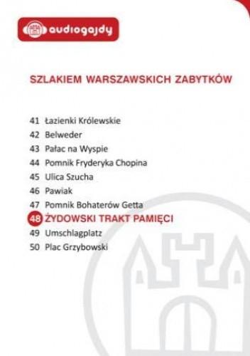 Okładka książki Żydowski Trakt Pamięci. Szlakiem warszawskich zabytków