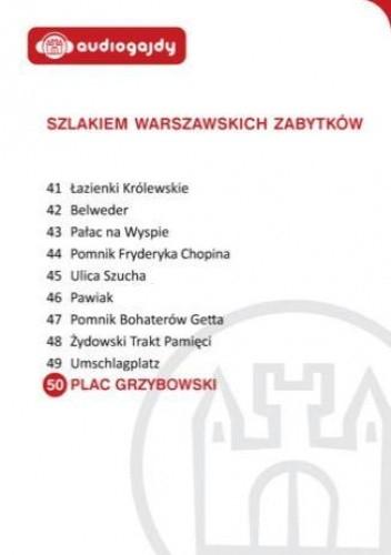 Okładka książki Plac Grzybowski. Szlakiem warszawskich zabytków