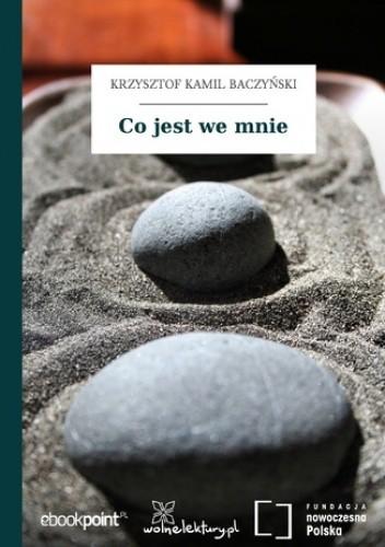 Okładka książki Co jest we mnie