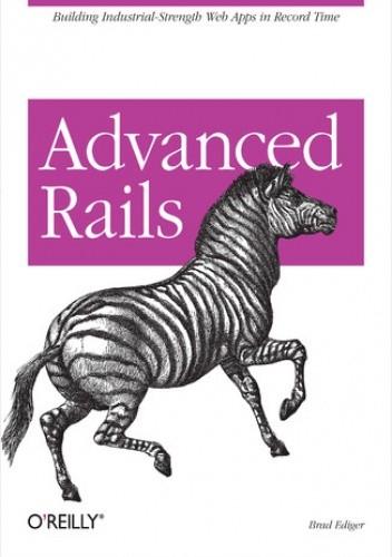 Okładka książki Advanced Rails