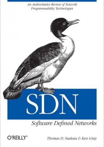 Okładka książki SDN: Software Defined Networks